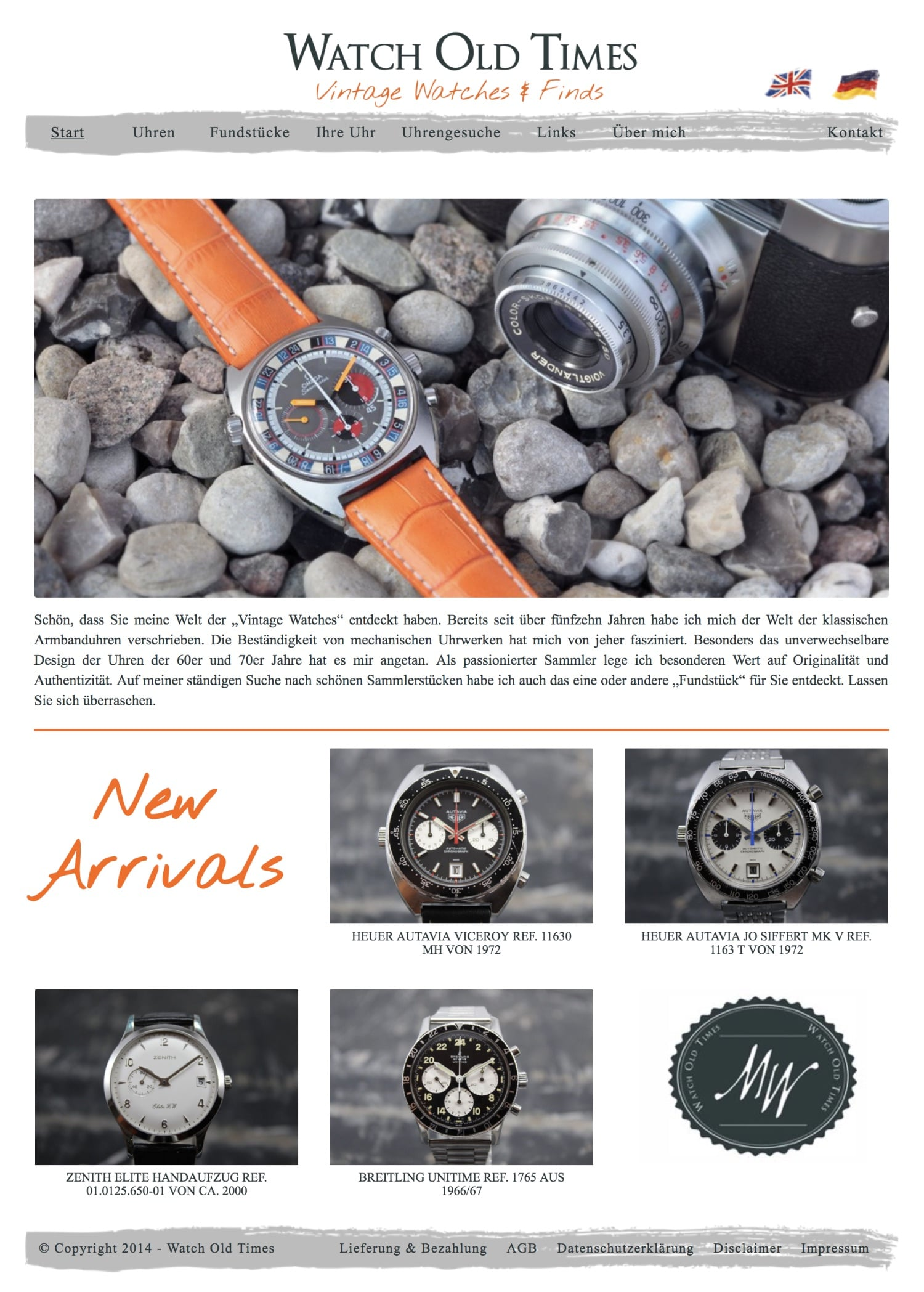 Website Watch Old Times