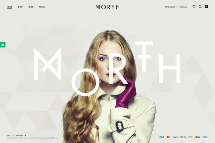 North - Unique E-Commerce Theme