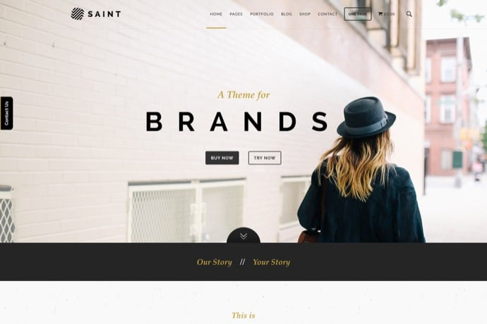 Saint - Creative One-Page Multi-purpose Theme