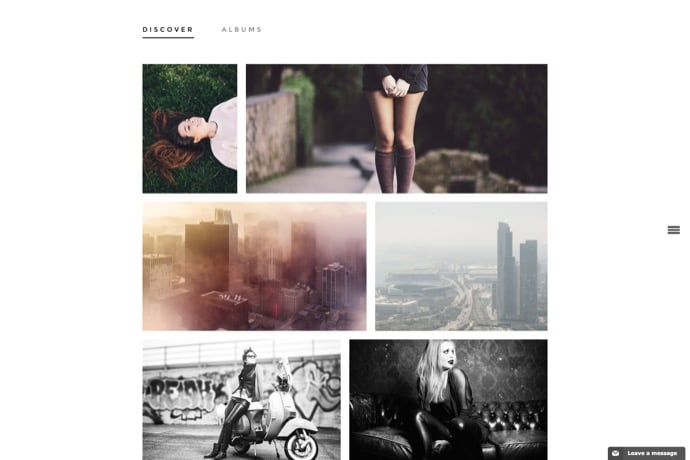 Volta - Creative Photo WordPress Theme