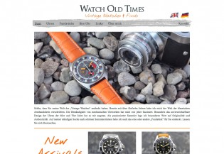 Watch Old Times - Startseite