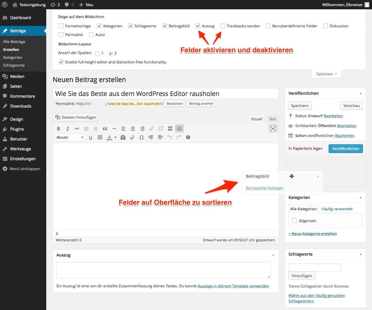 Wp Login: Wie Sie Das Beste Aus Dem WordPress Editor Rausholen