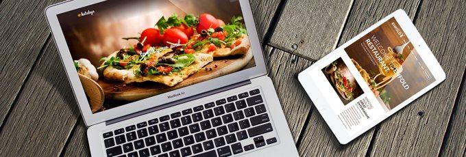 Wordpress für Restaurants und Cafes
