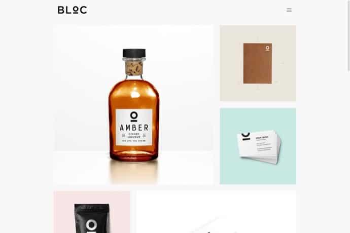 Bloc - Minimal Portfolio Theme