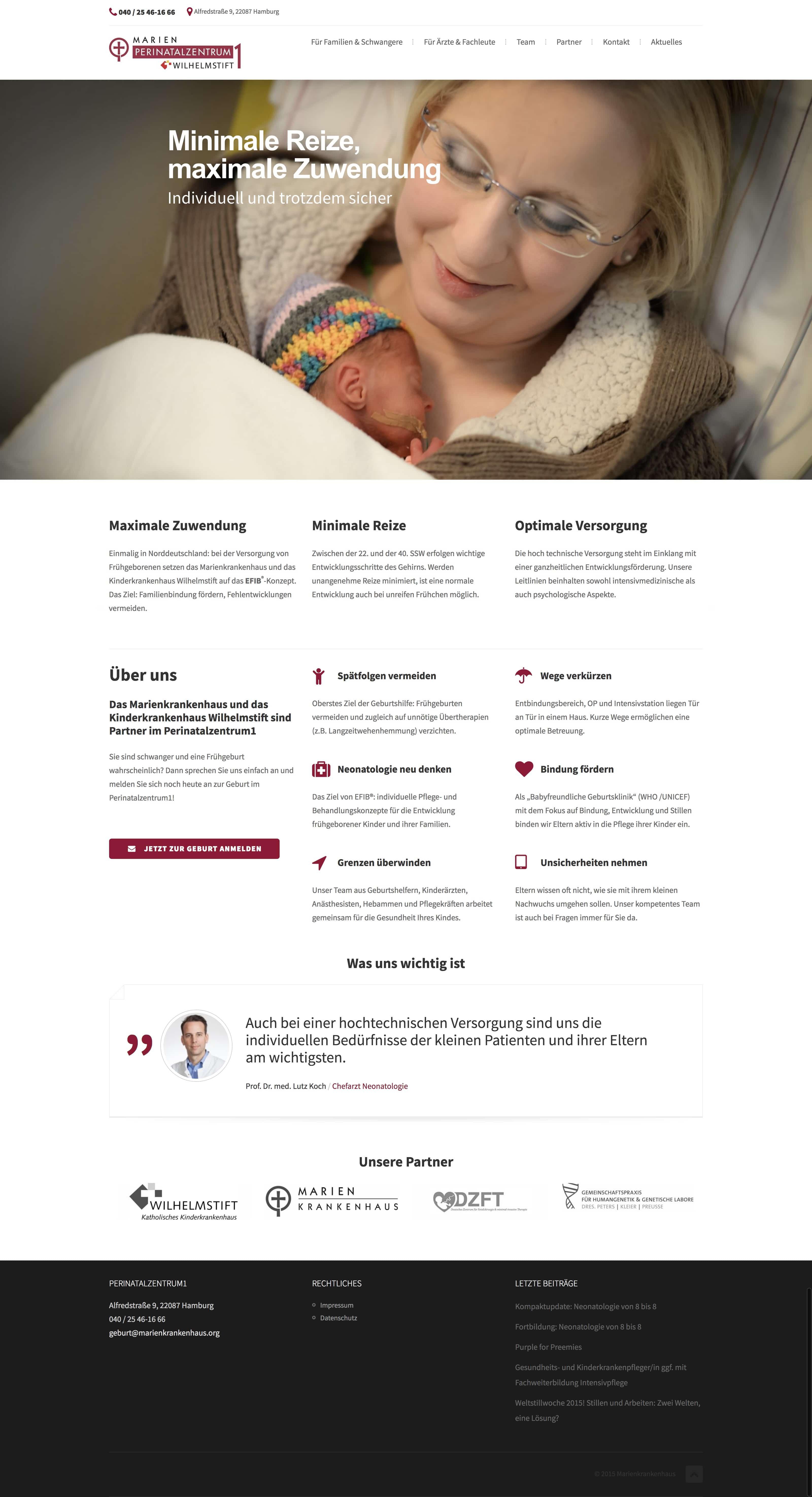 WebsitePrenatalzentrumLevel