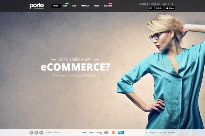 Porto | Responsive eCommerce WordPress Theme