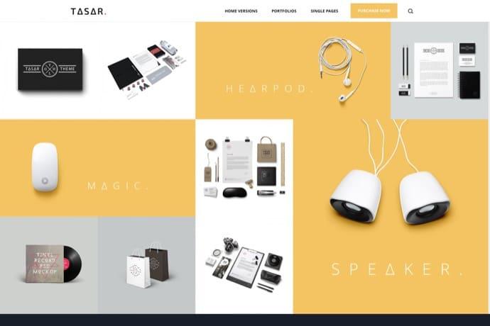 TASAR - Creative Portfolio & Frontend Blog Publish