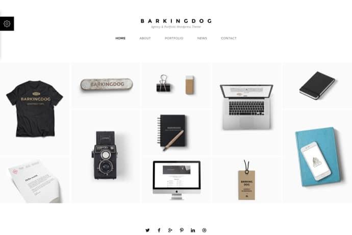BarkingDog - Agency & Portfolio WordPress Theme