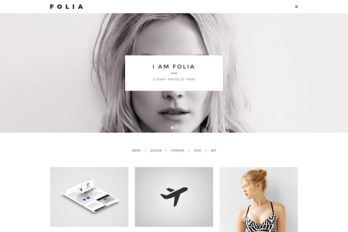 Folia - Agency & Freelance Portfolio WP Theme