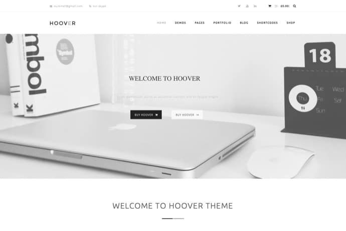Hoover - Multipurpose WordPress Theme