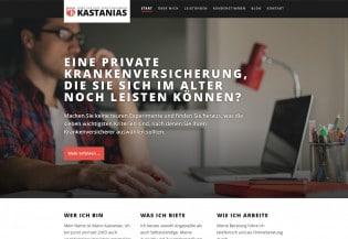 Kastanias -Startseite
