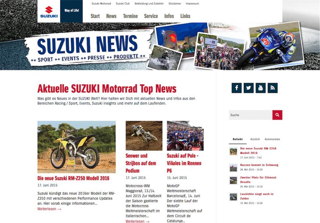 Suzuki News