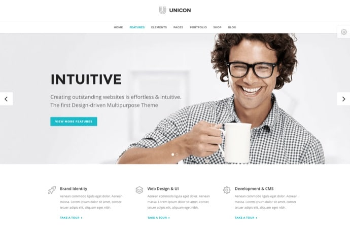 Unicon - Design-Driven Multipurpose Theme