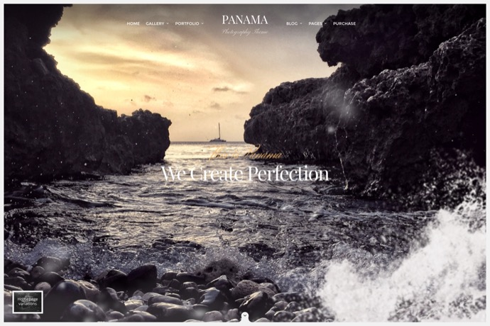 Panama - Photography Portfolio Theme
