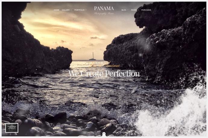 Panama - Photography Portfolio Theme
