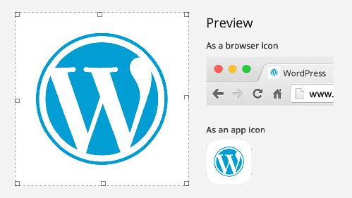 Website Icon Customizer