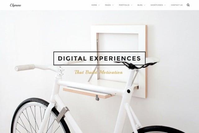 Clymene - Creative Multi-Purpose WordPress Theme