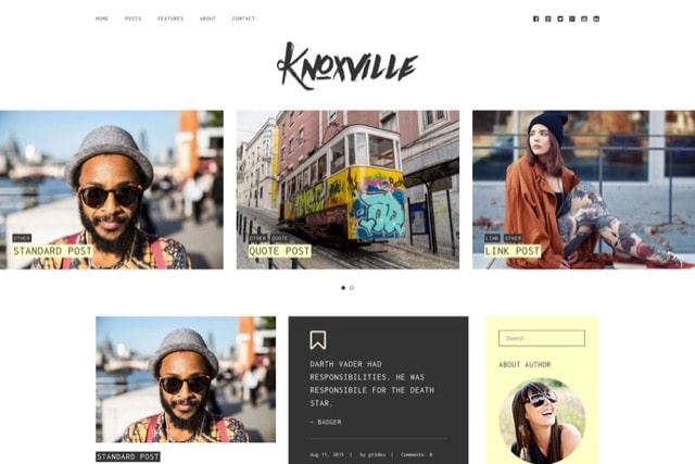 Knoxville - Responsive WordPress Blog Theme