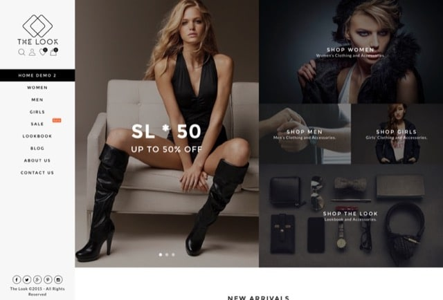 The Look - Clean, Responsive WooCommerce Theme