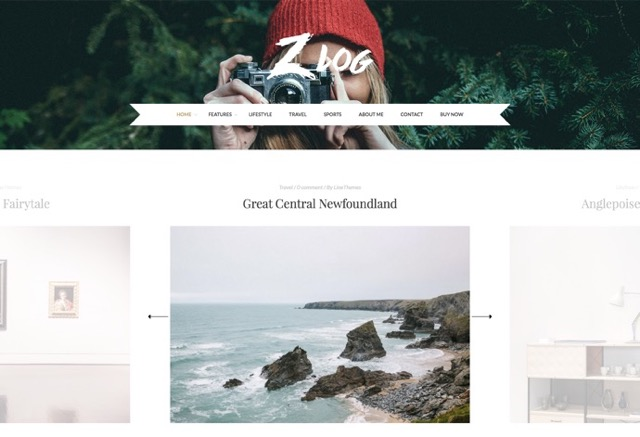 ZLog - A Responsive WordPress Blog Theme