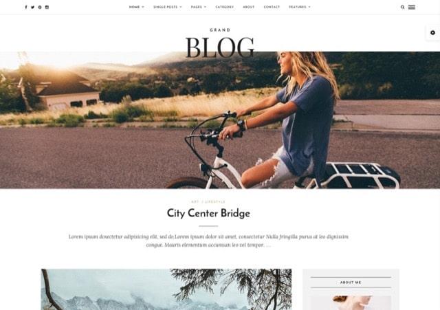 Grand Blog - Responsive Blog Theme