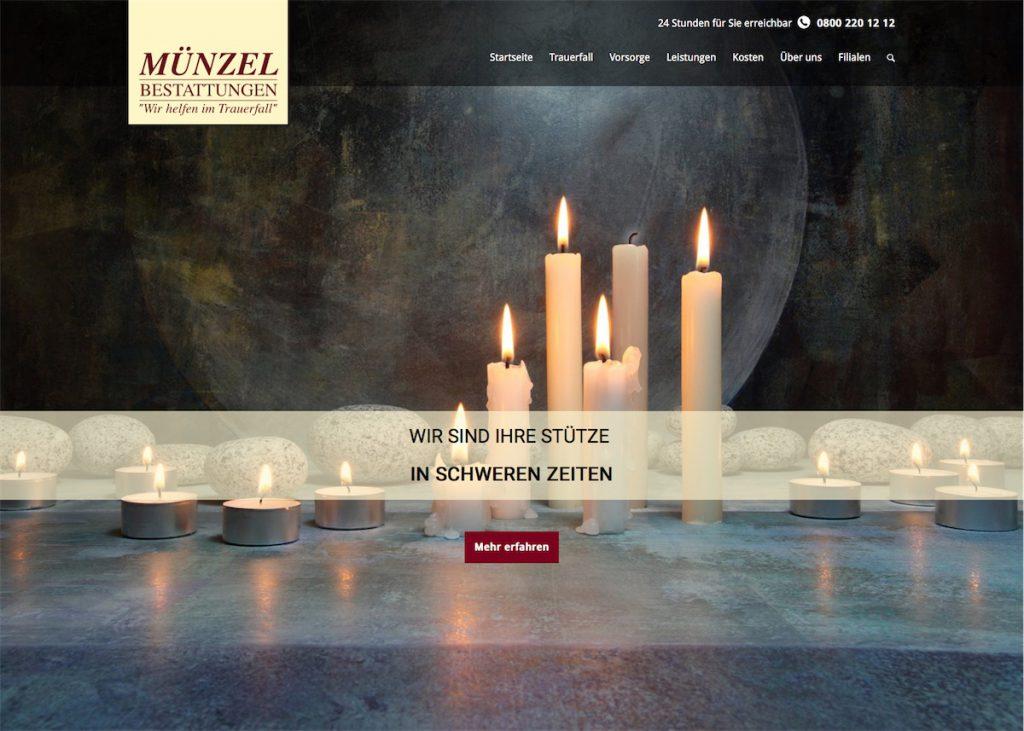Münzel-Bestattungen - Startseite