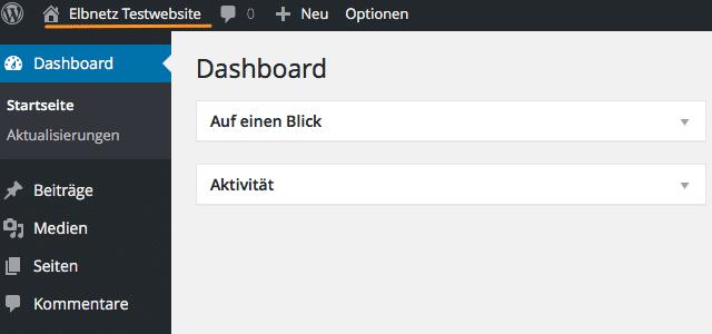 Testwebsite