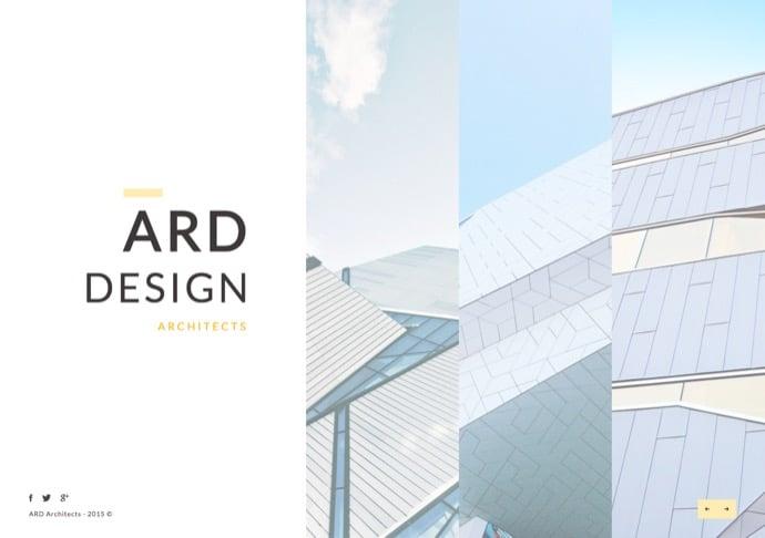 ARD - Architect - Builder Minimal WordPress Theme