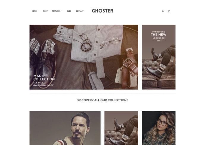 Ri Ghoster - Multipurpose Creative WordPress Theme