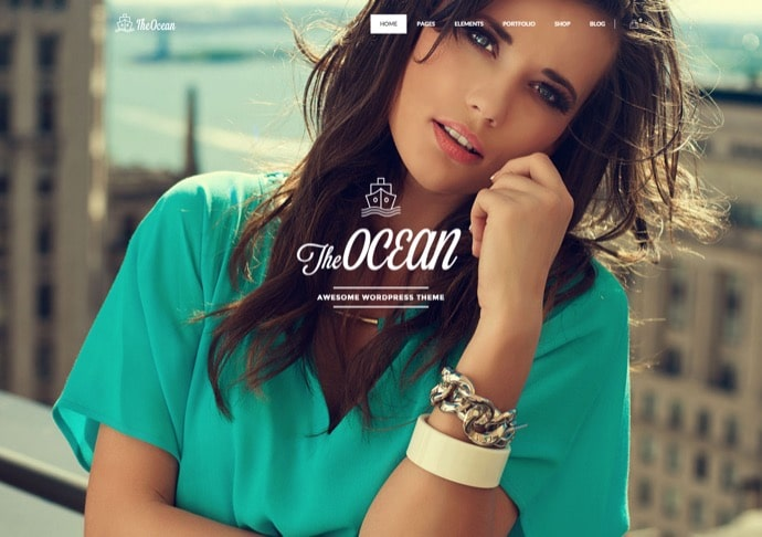 The Ocean - Multipurpose WordPress Theme