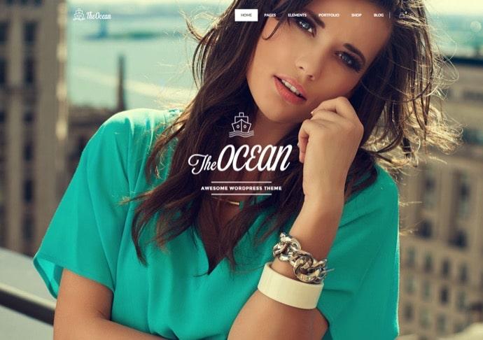 The Ocean - Multipurpose WordPress Theme