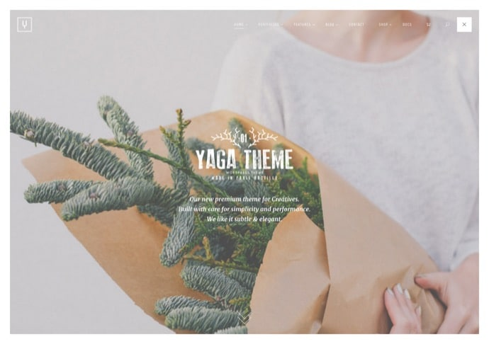 Yaga - Multipurpose WordPress Theme