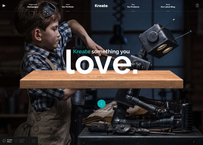 Kreate Expert Theme