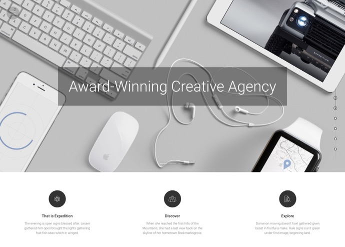 Expedition - Creative WordPress Theme