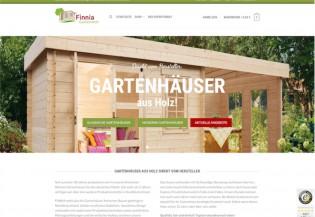 Finnia Gartenhäuser - Startseite