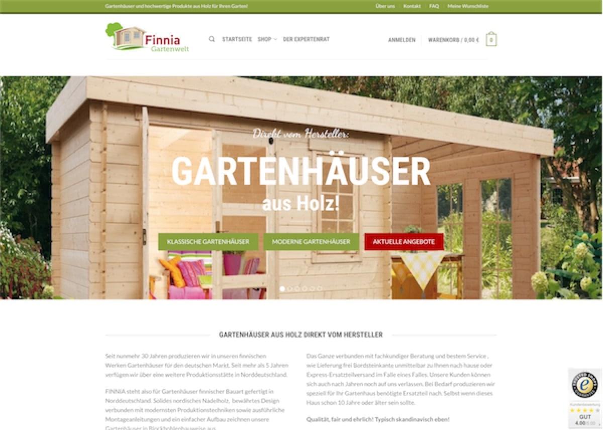Finnia Gartenwelt Shop