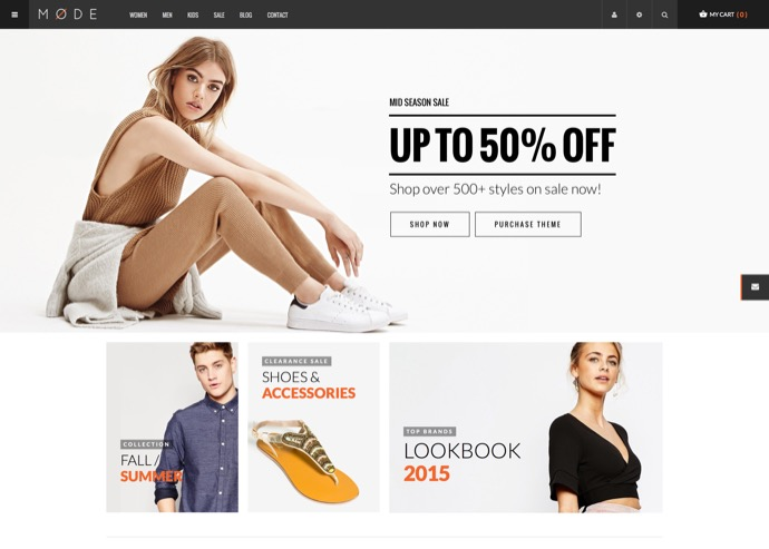 Mode - Modern Fashion WooCommerce WordPress Theme