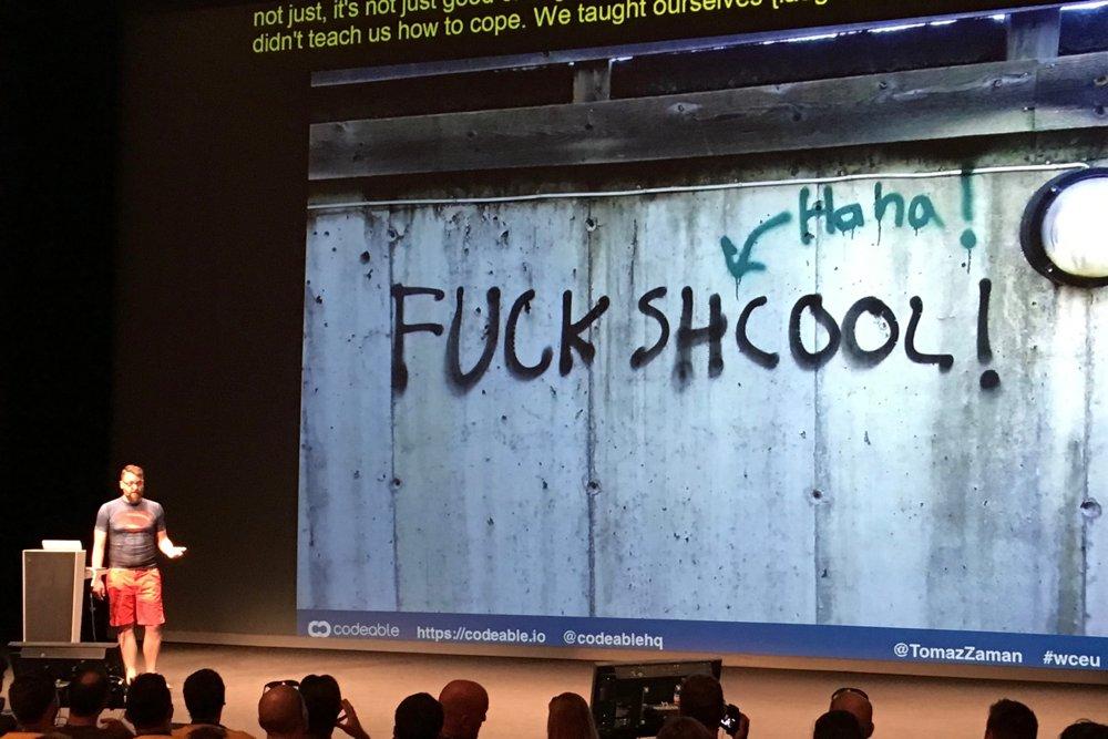 Ein spannender Vortrag auf dem WordCamp 2016