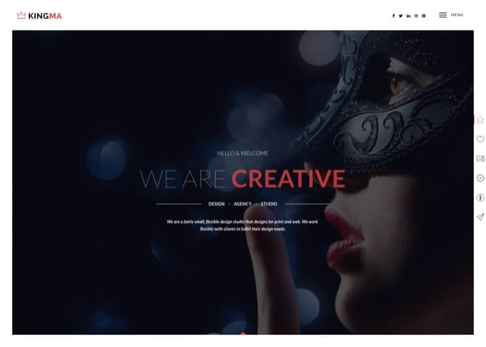 KingMa - Creative Business Onepage & MultiPage Theme