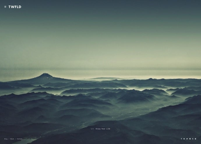 TwoFold - Premium Fullscreen Photography Theme