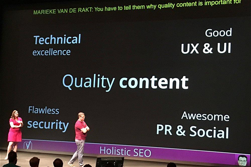 Vortrag Yoast auf dem WordCamp 2016