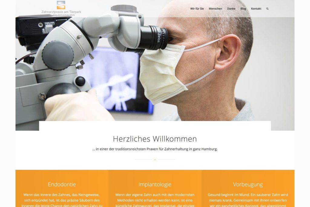 Startseite Zahnarztpraxis am Tierpark Hamburg