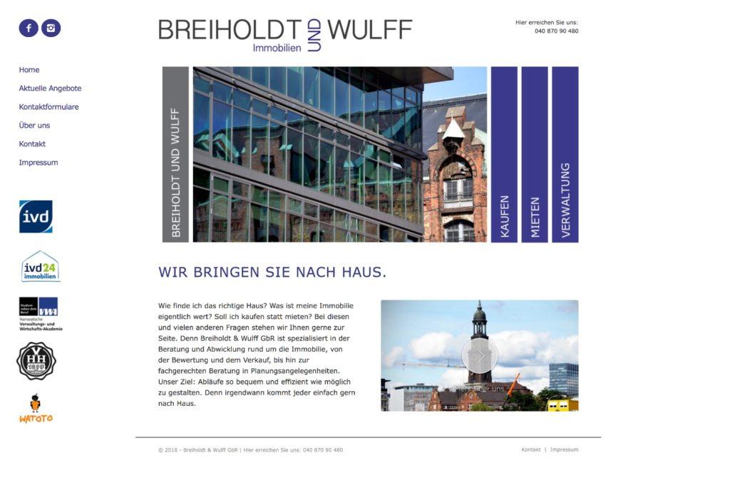 Startseite Beriholdt und Wulff
