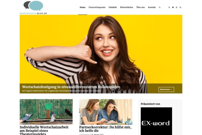 CASIO Wortschatz-Blog