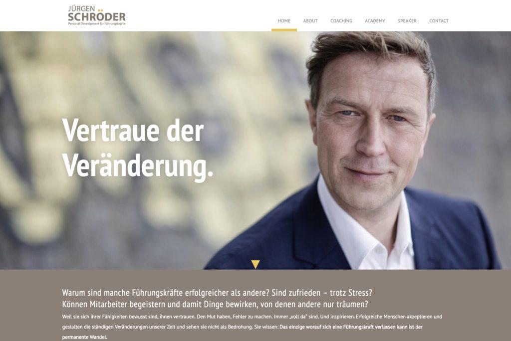 Startseite Jürgen Schröder