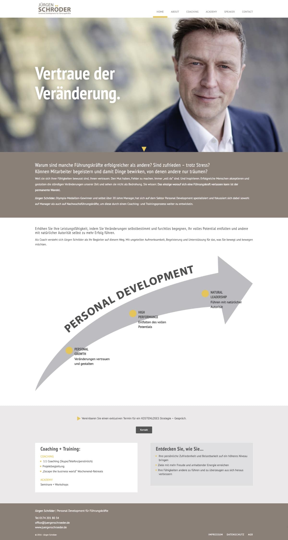 Website Jürgen Schröder