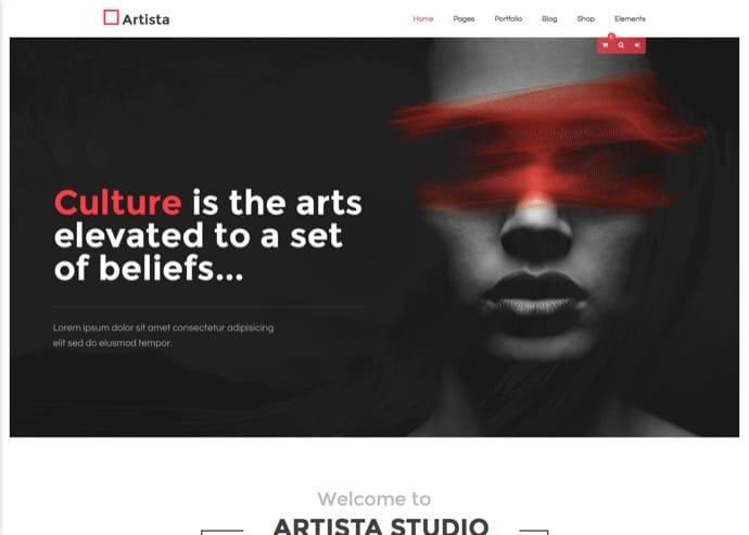 Artista - Responsive Multi-Purpose Creative & Portfolio WordPress Theme