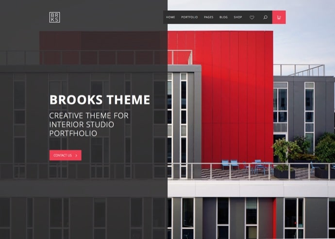 Brooks WP - Creative Multi Purpose WordPress Theme