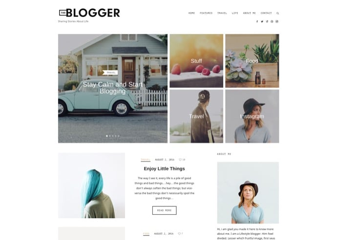 TheBlogger - A WordPress Blogging Theme for Bloggers