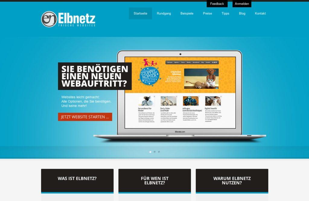 Elbnetz 2.0 - Das zweite Webdesign